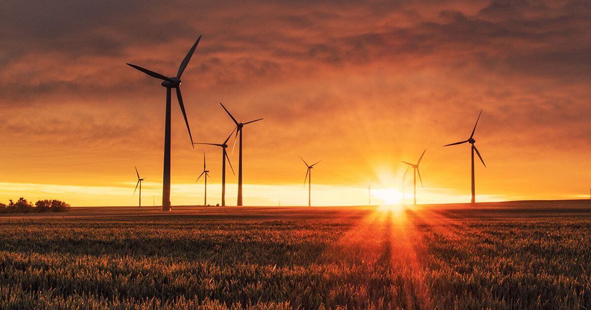 Adding a renewable energy source such as wind turbines on property can provide another passive farmland income source