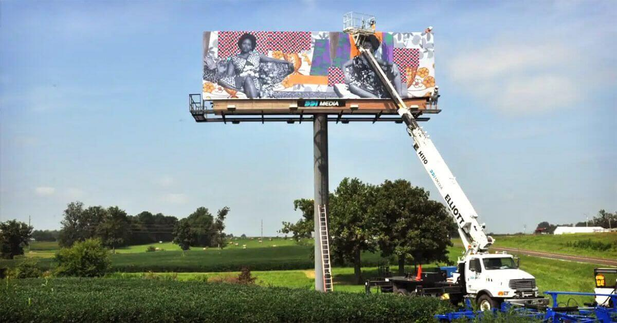 Adding a billboard on property provides another passive farmland income source